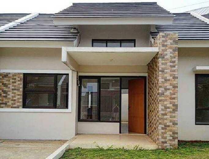 Gambar contoh model depan rumah minimalis terbaru