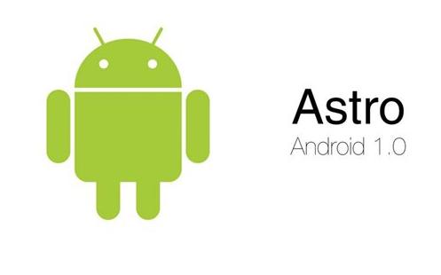 Android Alpha v1.0 Astro boy (Alpha)