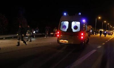 Τραγωδία στον Εύοσμο Θεσσαλονίκης: Τέσσερα νέα άτομα σκοτώθηκαν σε τροχαίο.