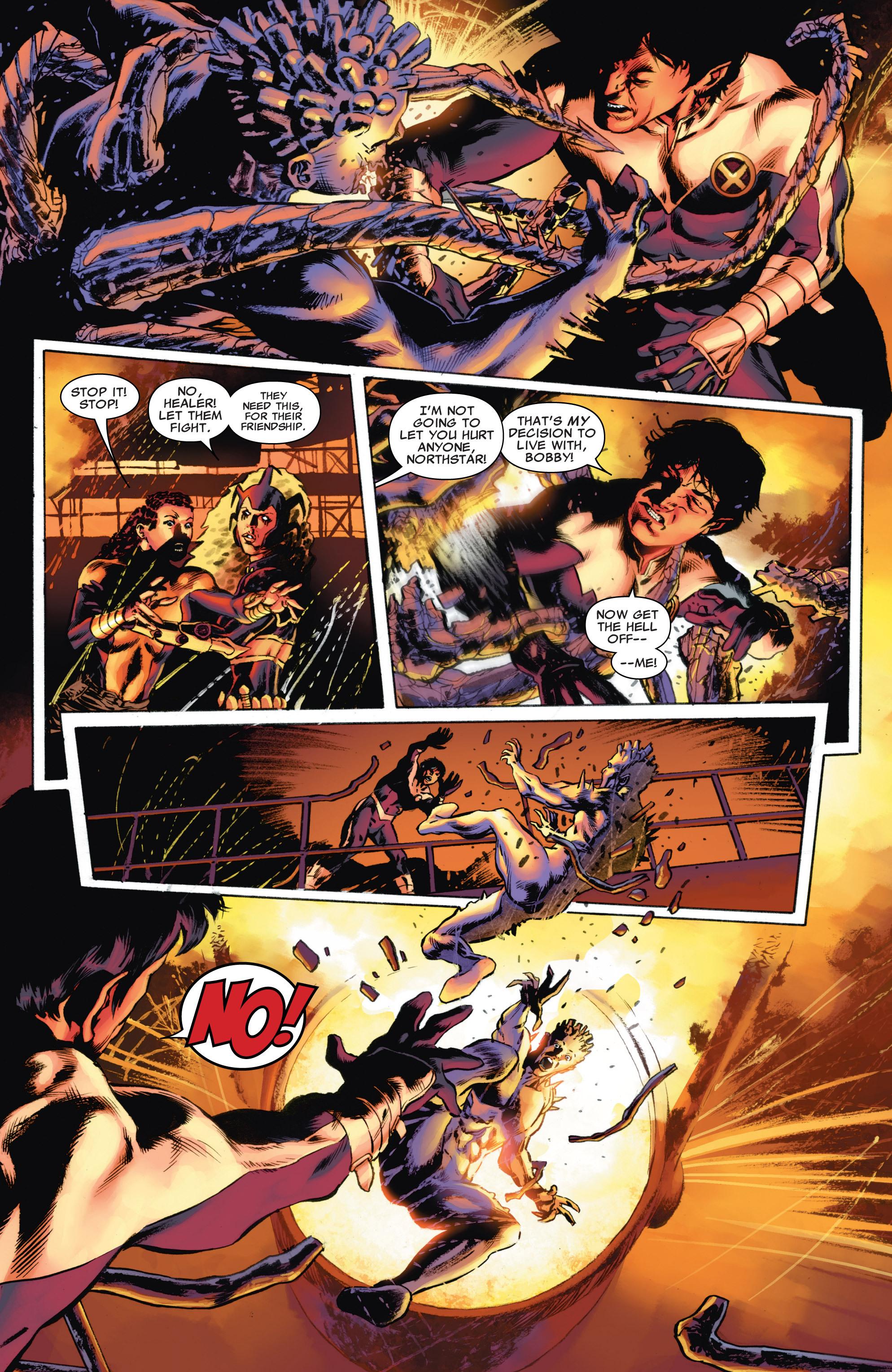 Read online Astonishing X-Men (2004) comic -  Issue #54 - 21