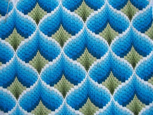 Creative Sphere Bargello Needlepoint