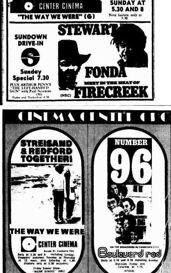 Advertisement for Streisand Redford Together in The Way We Were