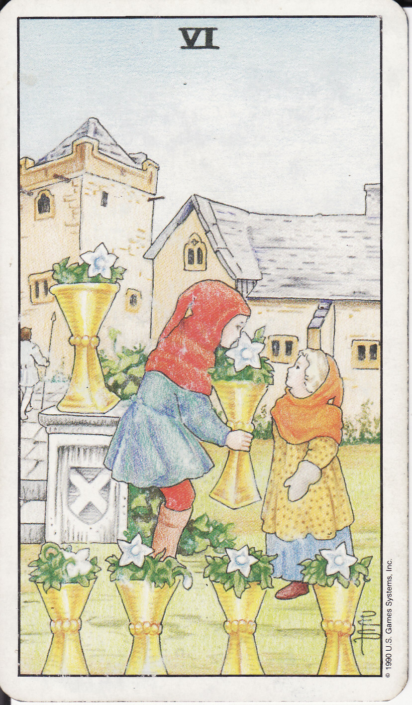 TAROT - The Royal Road: 6 SIX OF CUPS VI