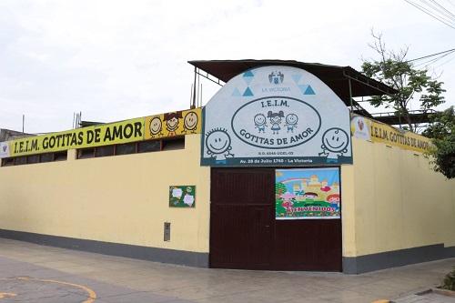 Inicial GOTITAS DE AMOR - La Victoria