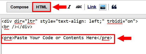 blog post me html code box kaise add kare
