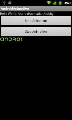 Start and Stop frame animation with AnimationDrawable
