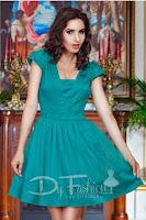 Rochie Dancing Verde • Rochie de ocazie
