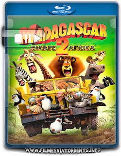Madagascar 2: A Grande Escapada Torrent - BluRay Rip 720p Dublado