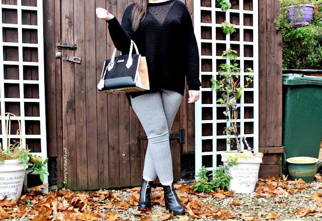 chunky knit fashion