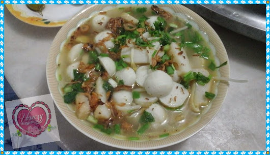 ✿ Simple Fishball Soup ✿