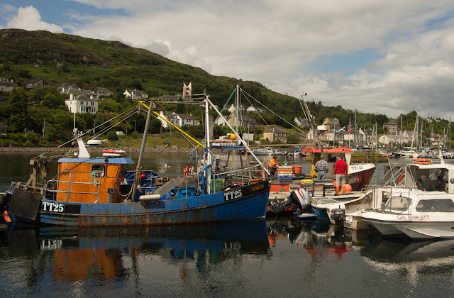 Photo of Tarbert fishing boats
