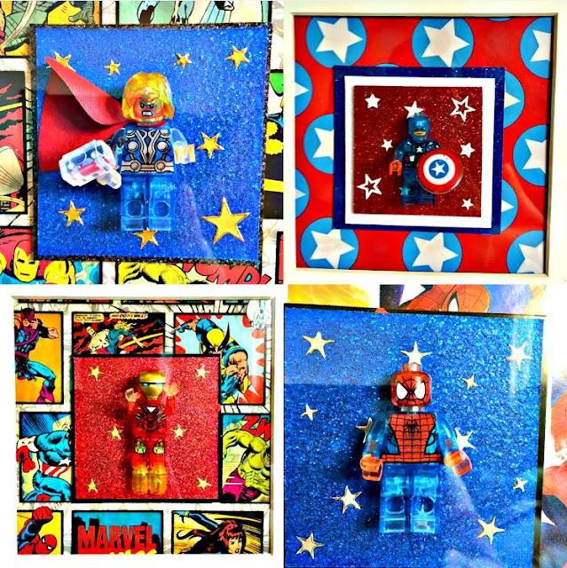 Mini Lego Heroes
