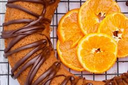 Keto Orange Chocolate Drizzle Bundt Cake (Low-carb, GF)