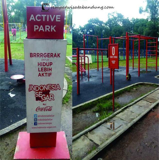 Olahraga Gratis di Taman Aktif Supratman (Active Park)