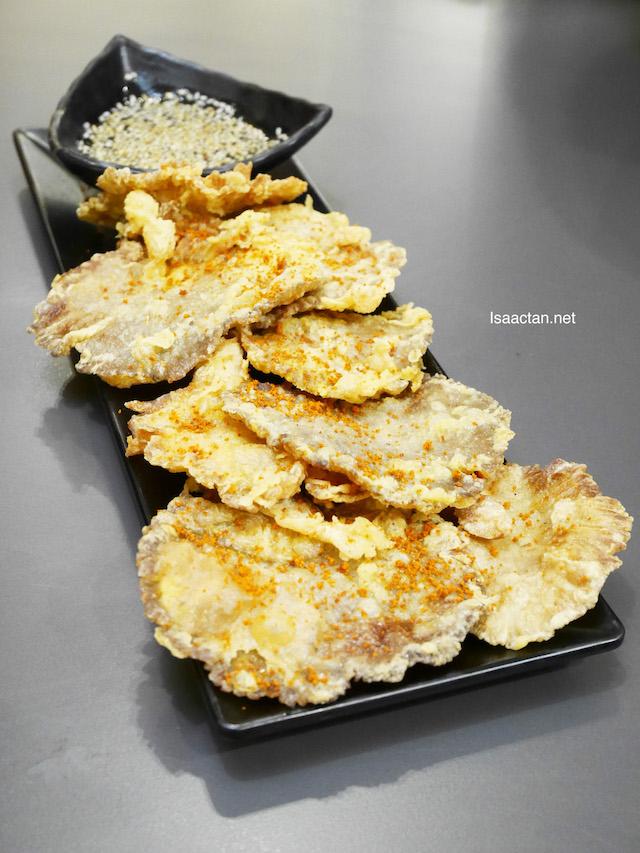 Golden Beoseot Fried Mushroom - RM7.50
