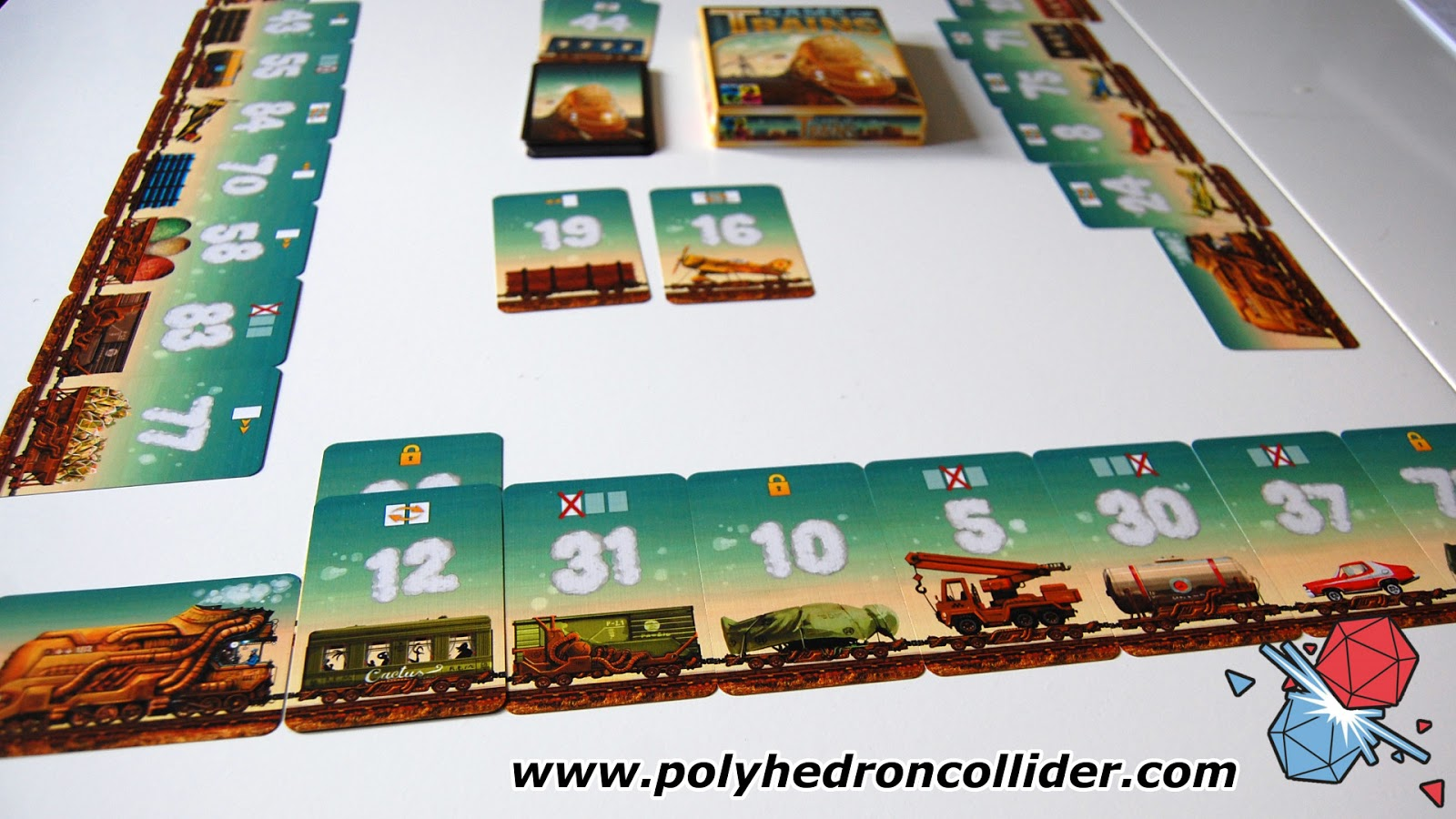 Game of Trains quick fast card game review