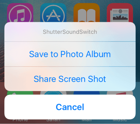 ShutterSoundSwitch-Prompt Cydia: Tweaks for iOS 9.3.3 (December 2017) Technology