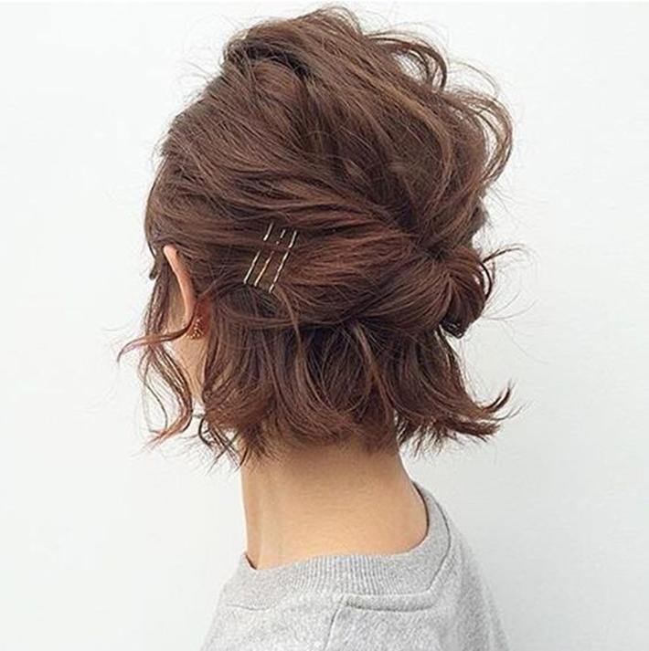 Penteados para cabelo curto para o dia a dia