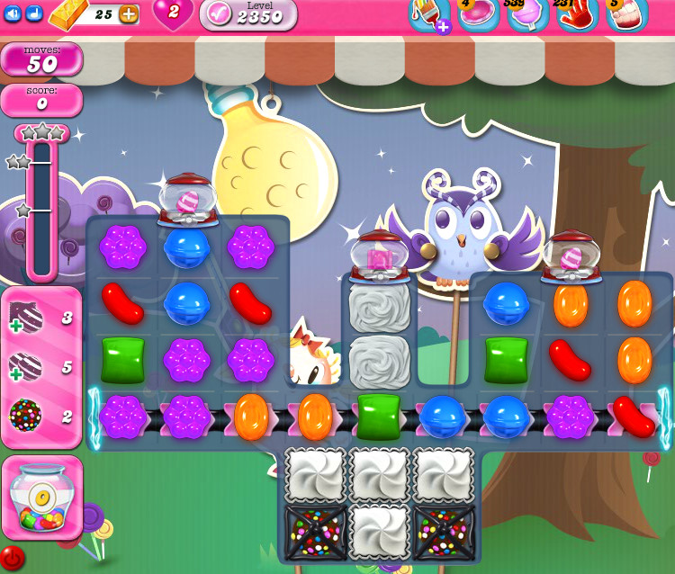 Candy Crush Saga level 2350