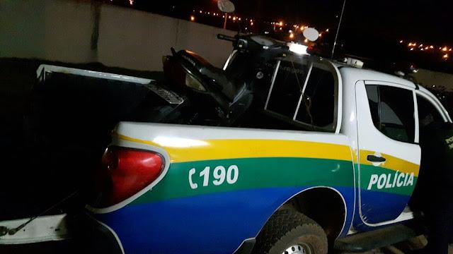 Polícia Militar recupera motocicleta furtada em Espigão d'Oeste