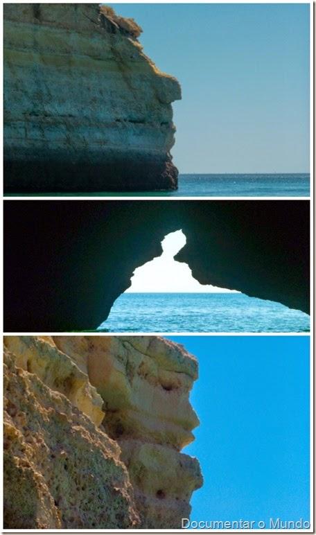 Grutas Marinhas;  Praias Algarve; Férias Algarve; Grutas Marinhas no Algarve; Sea Caves Algarve; Grotten Fahrt Algarve