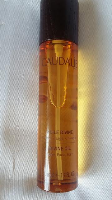 Caudalie Divine Oil - suchy olejek do twarzy , ciała i włosów