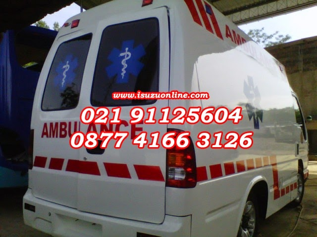 ISUZU ELF AMBULANCE STANDART