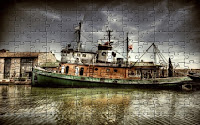 Old army ship