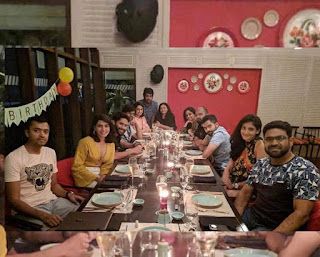 NagaChaitanya Birthday Celebrations with Samantha in Goa Photos