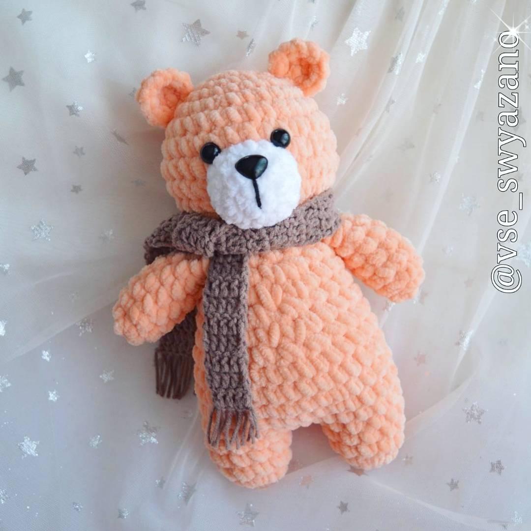 Crochet Teddy Bear Pattern Crochet Pattern Amigurumi Animal   Etsy   1080x1080