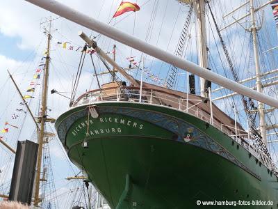 Hafenrundfahrt Hamburg Rickmer Rickmers