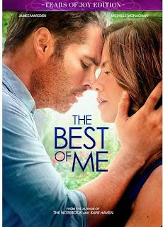 The best of me, novela, pelicula, opinion, reseña, frases, diálogos, resumen; lo mejor de mi