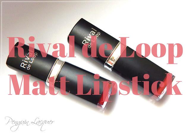 rival de loop matt lipstick
