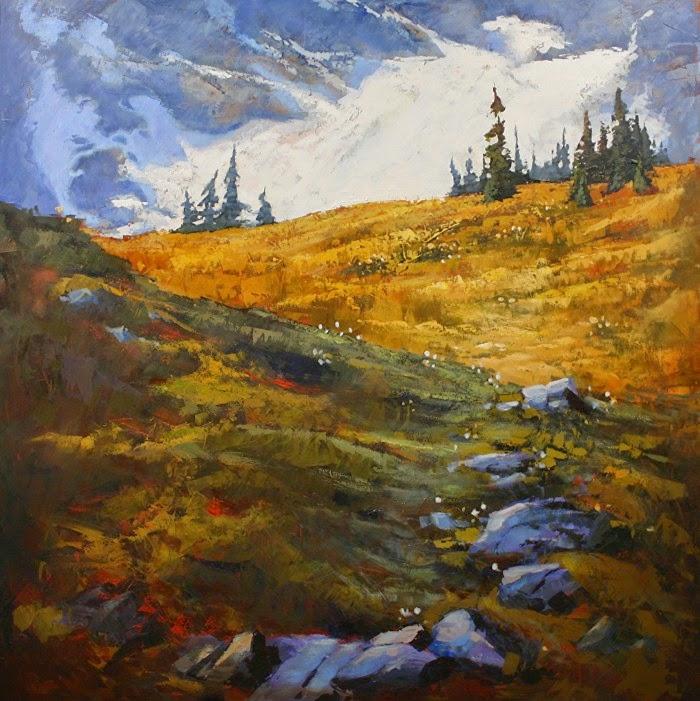 Пейзажи мастихином. Linda Wilder