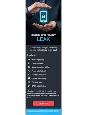 20170706 Leaker 1 - Mcafee scopre un ransomware per Android: LeakerLocker, tutti i dettagli