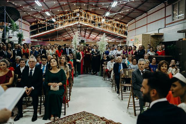 boda galicia nave fabrica imagen coruña vestido novia sara lage atodoconfetti