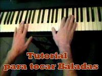 Como tocar baladas con el Piano para acompañarse