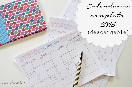 Calendario 2015 descargable (completo)