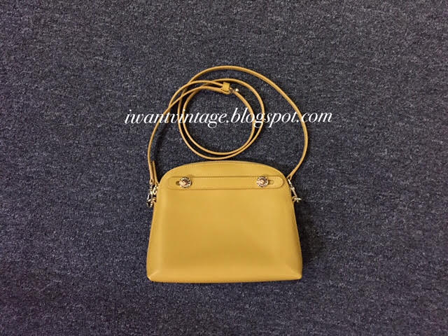 Furla Piper Mini Crossbody Bag-Girasole(Mustard Yellow)