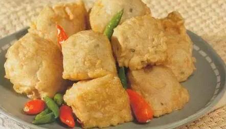 Resep Tahu Goreng Crispy Isi Ayam Dan Sayur