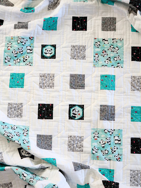 Fractals Quilt Pattern from Andy of A Bright Corner