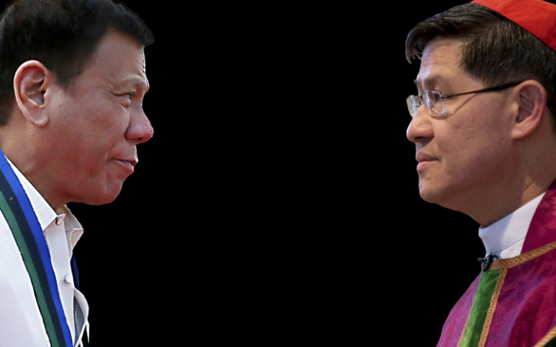 LOOK: President VS Cardinal The Conversation