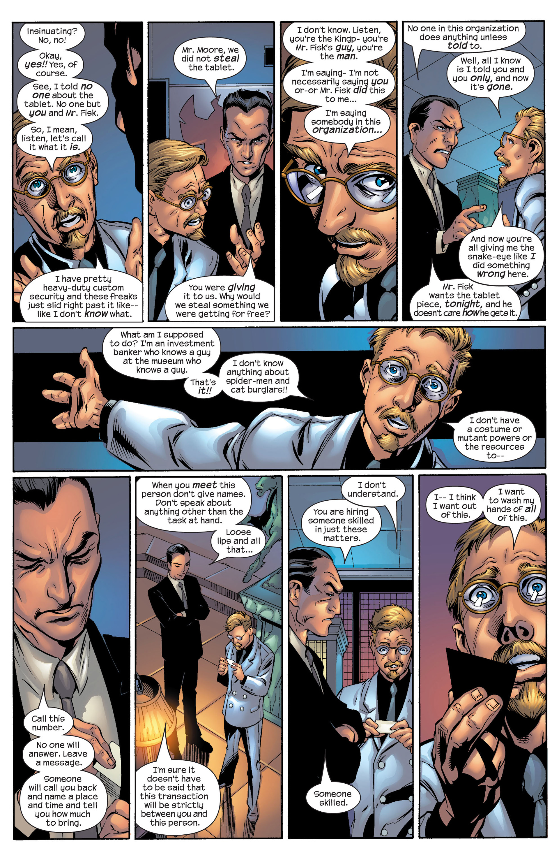 Read online Ultimate Spider-Man (2000) comic -  Issue #51 - 6