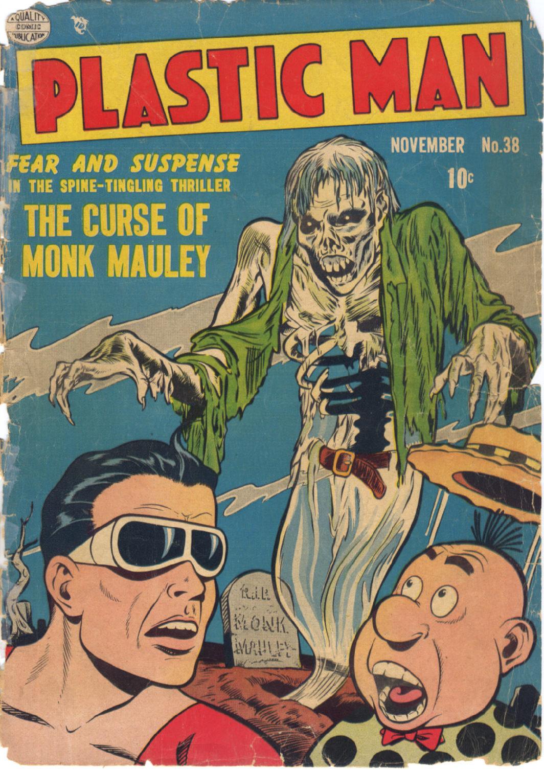 Plastic Man (1943) 38 Page 1