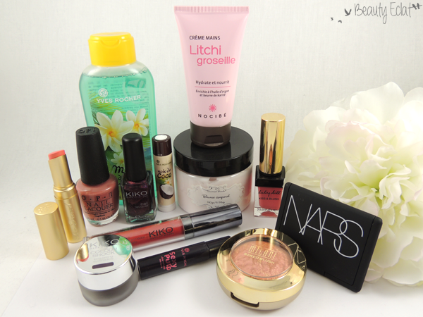haul beaute sephora yves rocher opi kiko too faced