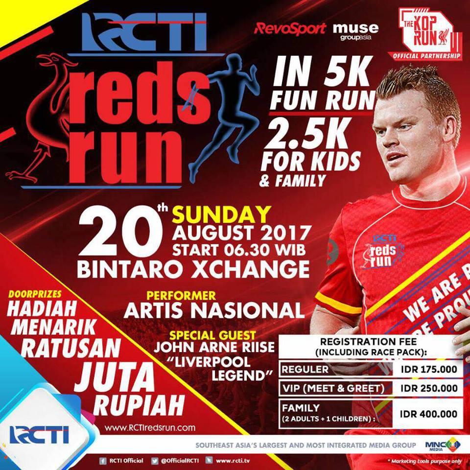 RCTI Reds Run • 2017
