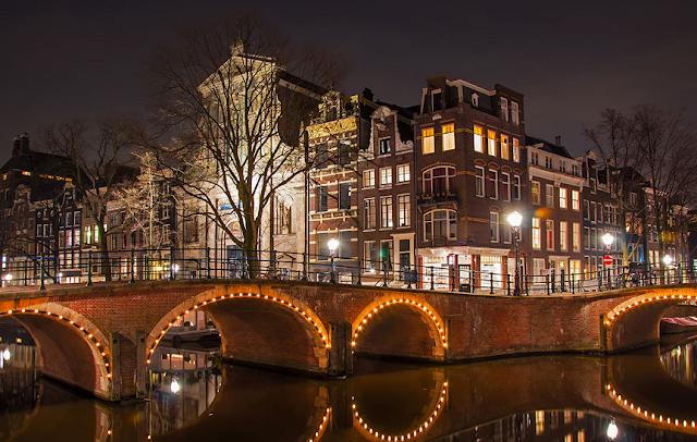 O que fazer a noite em Amsterdã