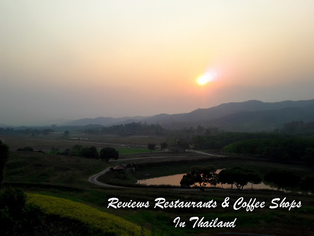 Sunset at Singha Park in Chiang Rai - North Thailand