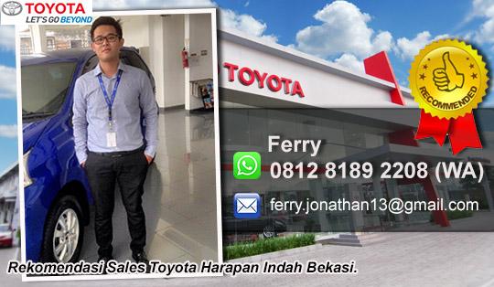 Rekomendasi Sales Toyota Harapan Indah Bekasi