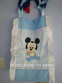 ¨Pañalera baby mickey
